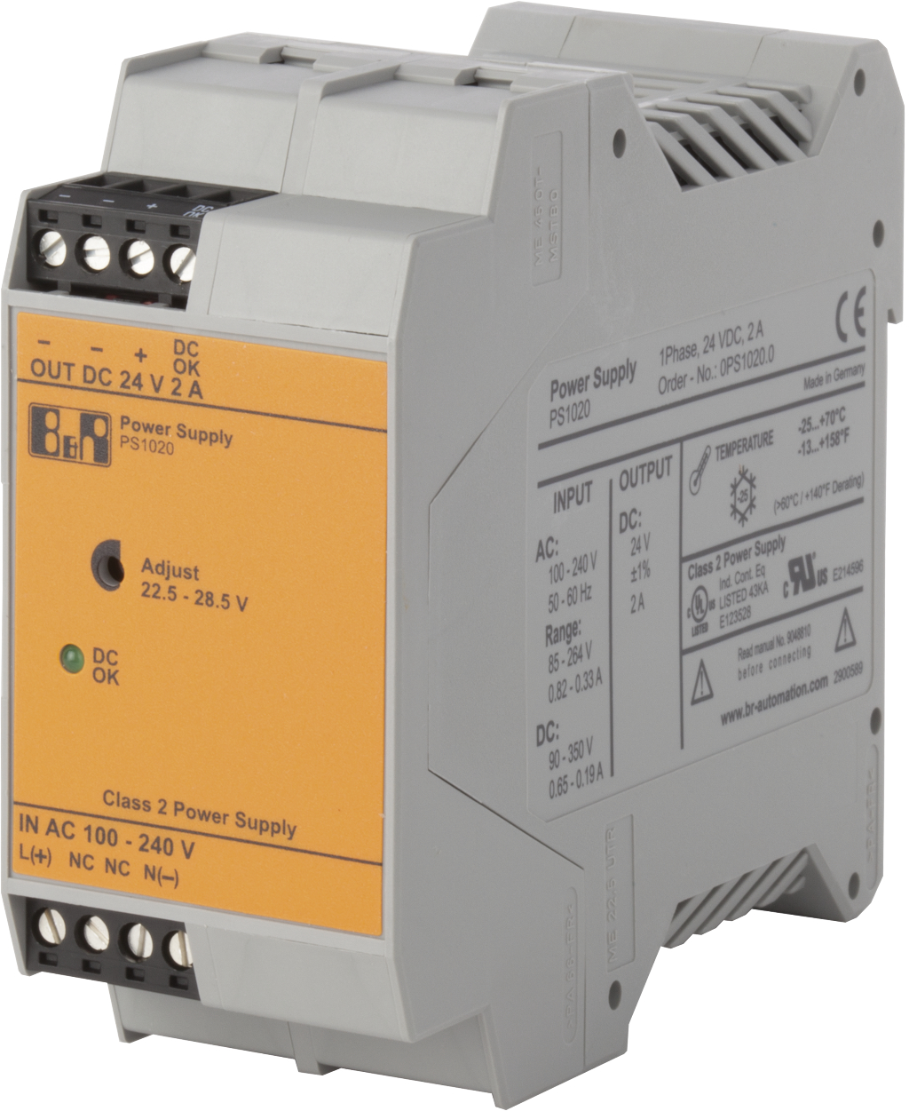 Single-phase power supplies | B&R Industrial Automation