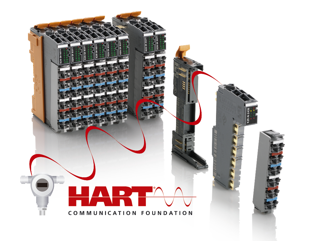 B&R adds HART modules to the X20 I/O series | B&R Industrial Automation