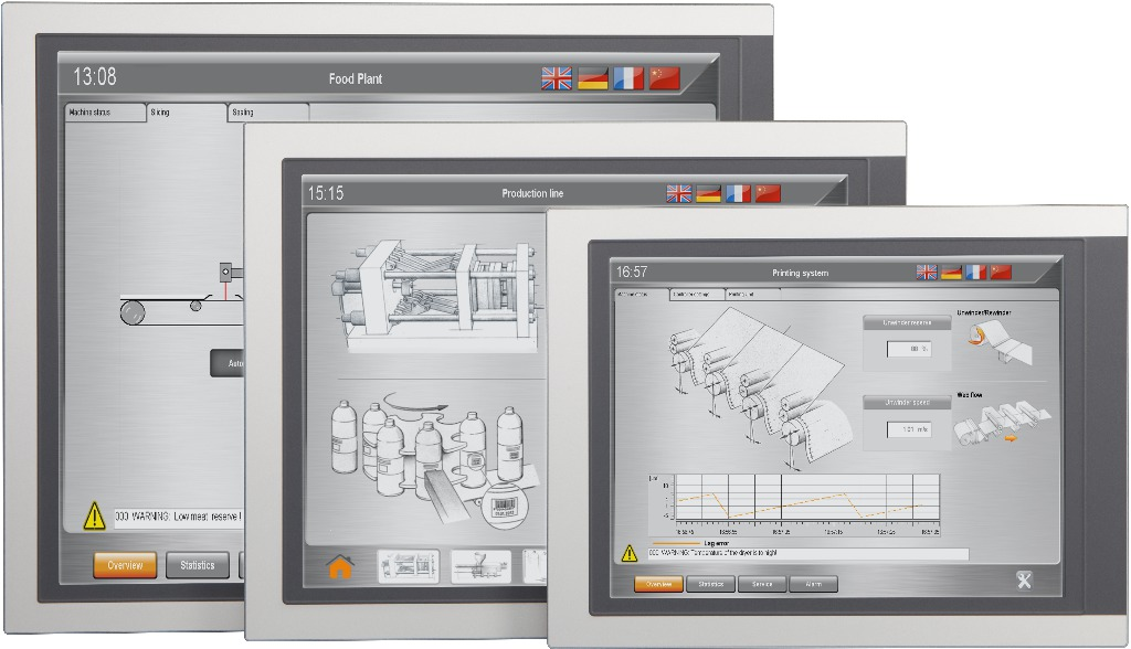 automation panel single touch b r industrial automation