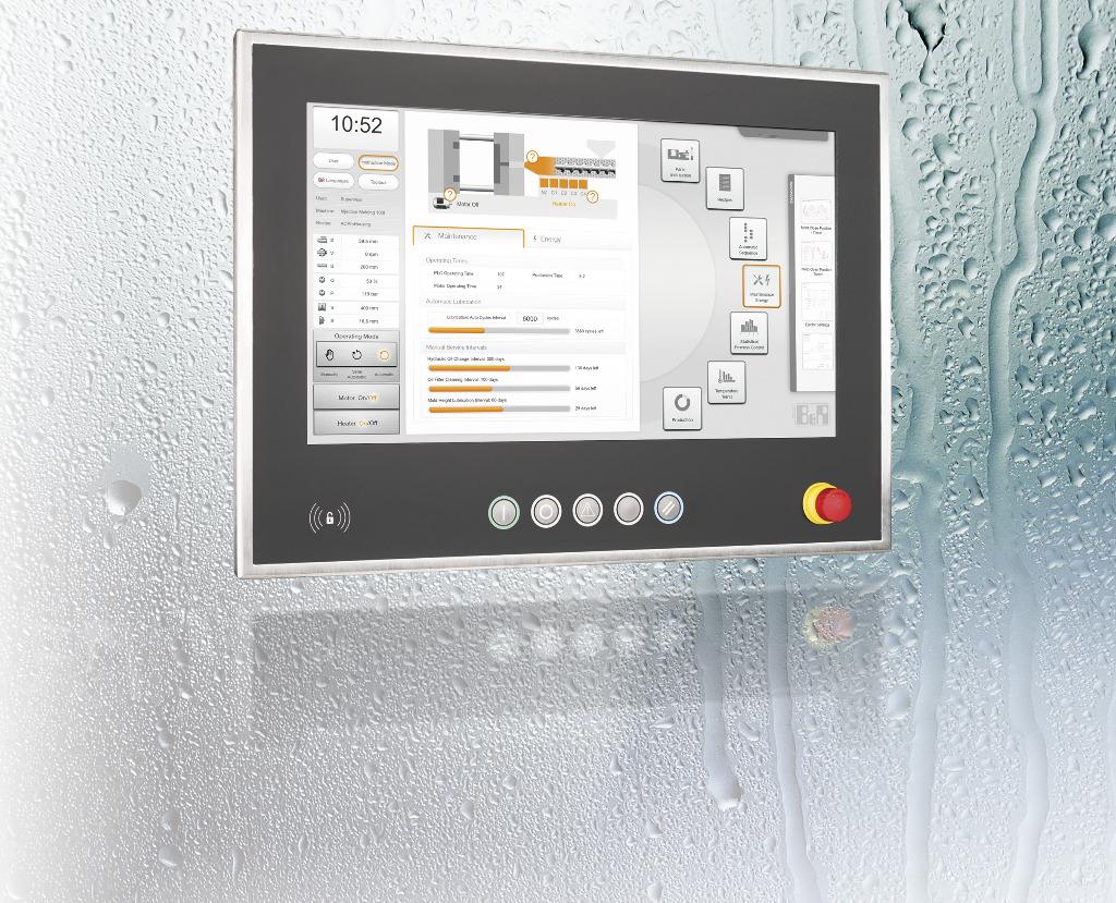 Panel Pc Hygienic Stainless Steel Design Swing Arm B